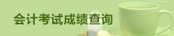西藏会计考试成绩查询