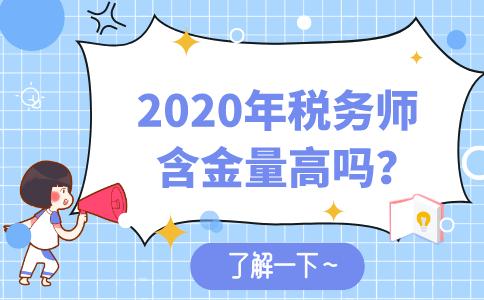 2020年稅務師含金量高嗎?對職業發展的幫助有哪些?