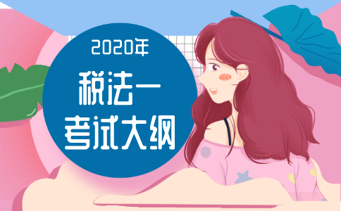 2020年税务师《税法(I)》考试大纲!