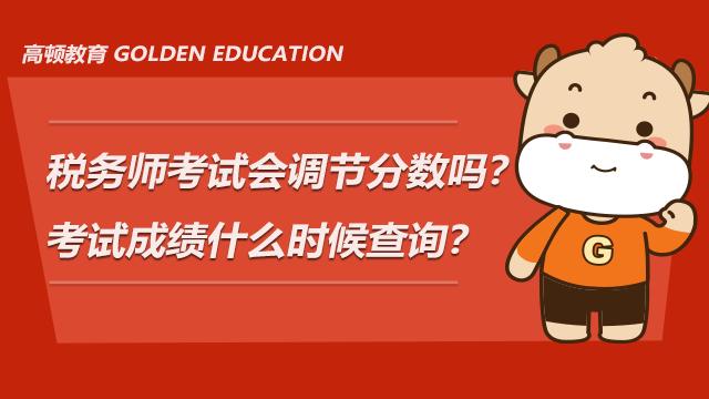 税务师考试会调节分数吗?考试成绩什么时候查询?