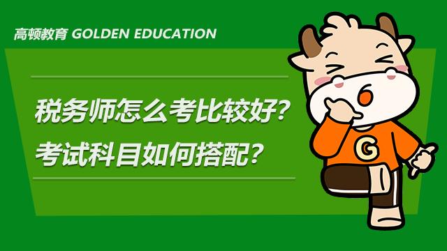 税务师怎么考比较好?考试科目如何搭配?