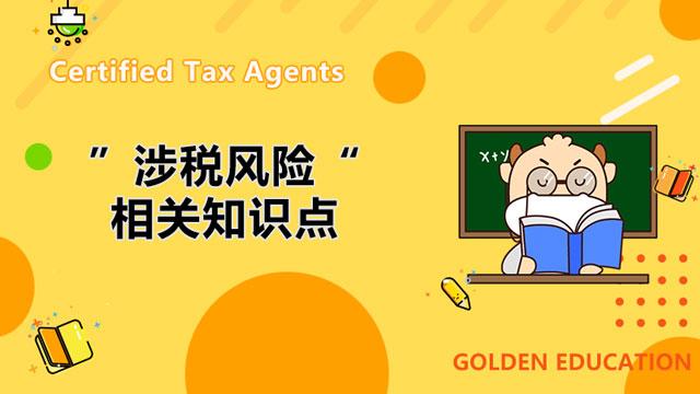 税务师涉税风险相关知识点