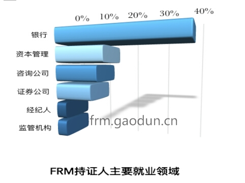 FRM持证人就业分析