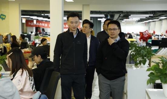 共青团上海市委领导一行莅临高顿教育调研走访