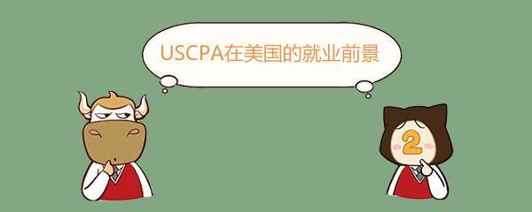 USCPA在美国的就业前景如何