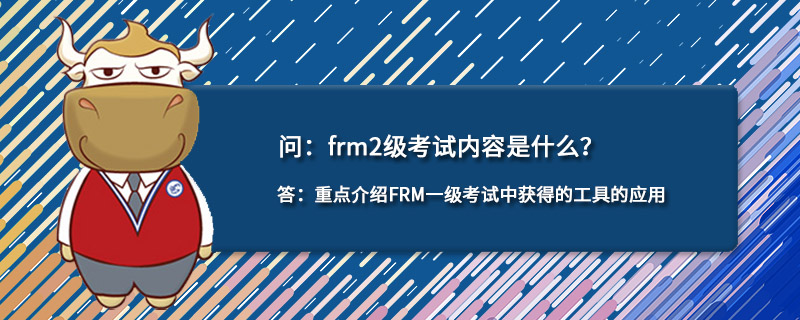 frm2级考试内容是什么