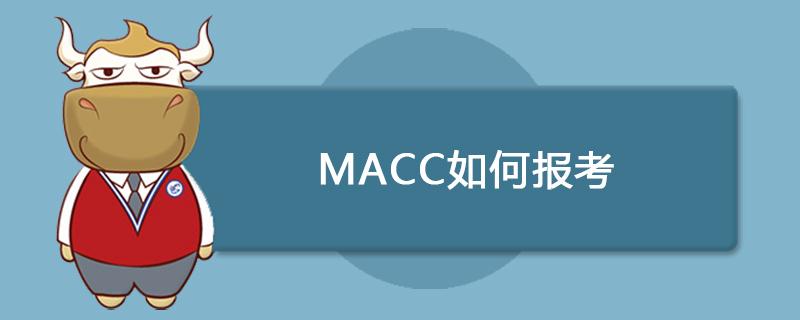 MACC如何报考