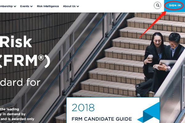 2017年11月FRM准考证打印时间及打印方法说明