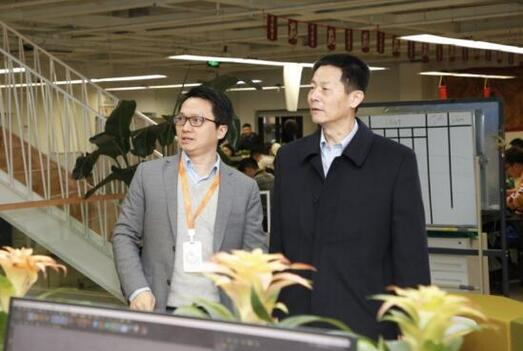 上海市副市长吴清赴高顿集团调研