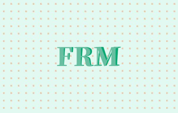 25岁的年轻人,考试FRM是更节约成本的一种选择