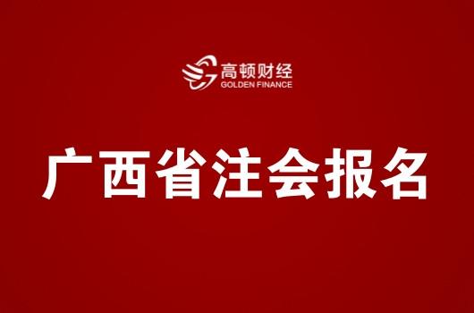 广西省2019年注册会计师全国统一考试报名简章