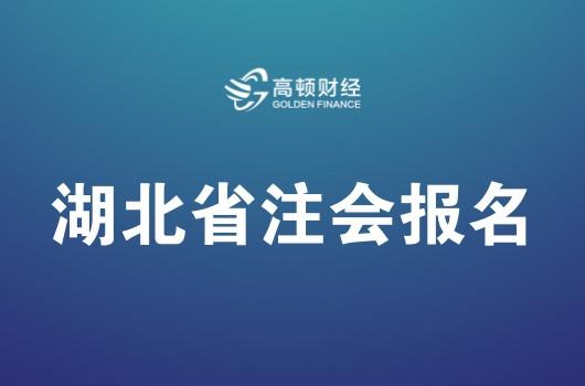 湖北省2019年注册会计师全国统一考试报名简章