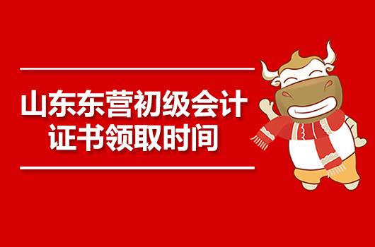 2019年山东东营初级会计职称证书于11月4日至8日领取