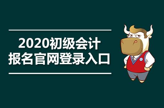 2020初级会计报名官网登录入口