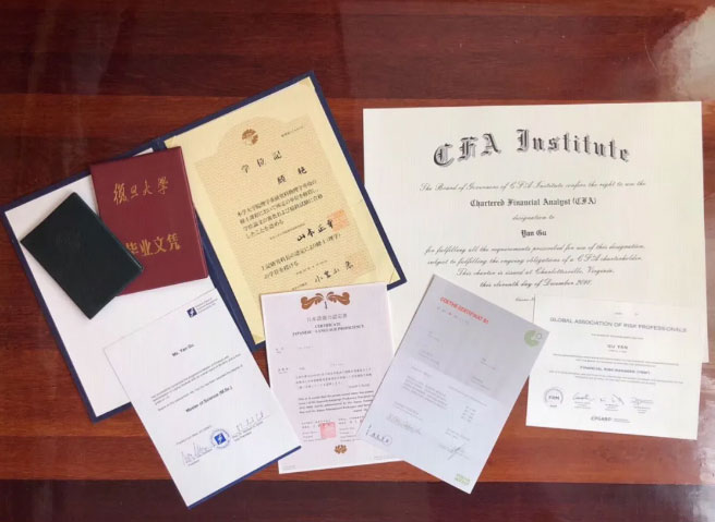 CFA学员公认女神,三国顶尖大学物理金融双硕士,讲得好CFA,还追得了星!