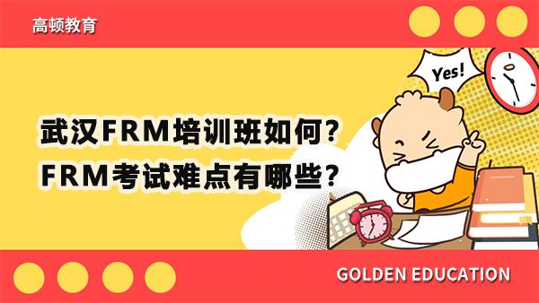 武汉FRM培训班