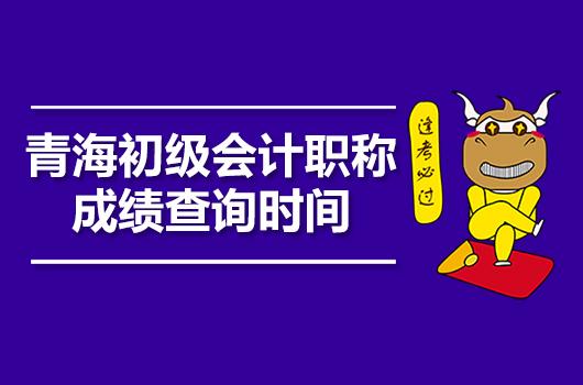 青海初级会计职称成绩查询时间公布了吗?附入口