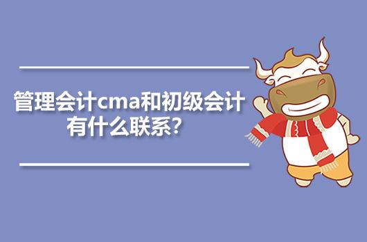 管理会计cma和初级会计有什么联系?