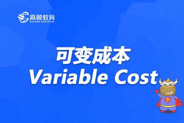 想要学习可变成本Variable Cost,这篇你绝对要读