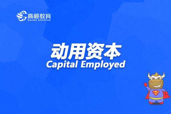 动用资本Capital Employed怎么理解?