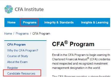 注意:12月CFA准考证打印已开始!附打印流程