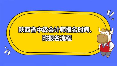 陜西省2021中級會計師報名時間、附報名流程