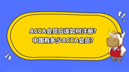ACCA會員應該如何注冊?中國有多少ACCA會員?
