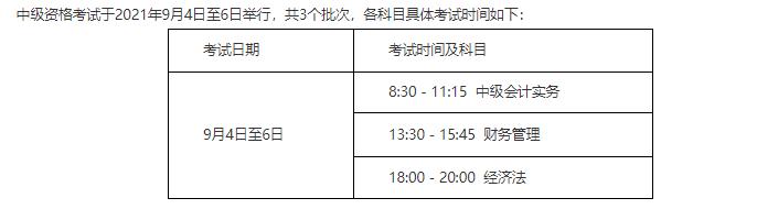 2021山东省中级会计师准考证打印流程、考试时间