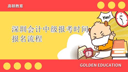 2021年深圳会计中级报考时间