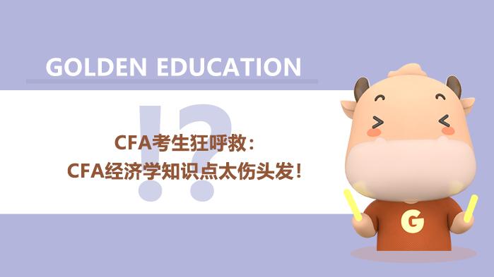 2021年CFA考生狂呼救:CFA经济学知识点太伤头发!