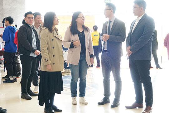 天津外国语大学携手高顿教育HI实习举办专场招聘会