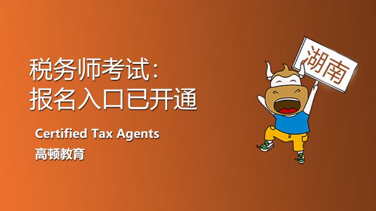 2021年湖南省税务师考试报名入口直达!报名条件进一步了解!