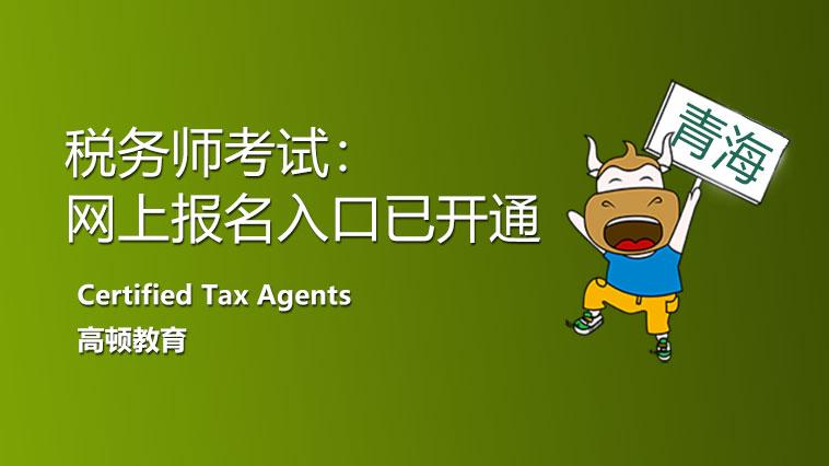2021年青海省税务师考试网上报名入口开通了!需要注意什么?