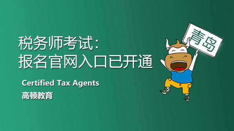 青岛市2021年税务师报名官网入口开放了!照片处理你会吗?