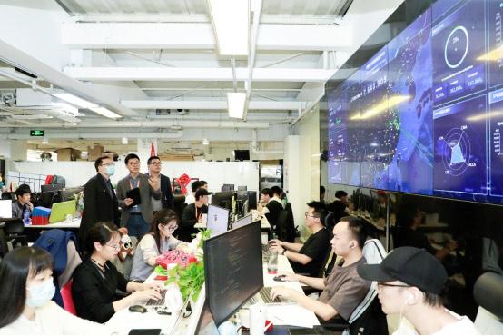 上海立信會計金融學院領導蒞臨高頓教育洽談合作方向