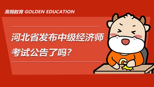 河北省发布2021年中级经济师考试公告了吗?当前应如何备考?