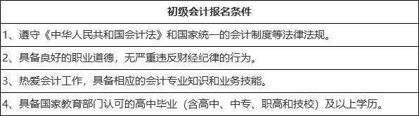 江苏2021初级会计报名时间