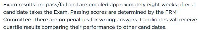 7月frm考试成绩公布时间出来了吗?如何判断自己有没有通过?